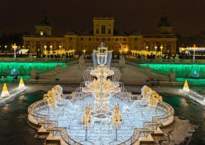 Królewski Ogród Światła w Wilanowie, fot. m.st. Warszawa
