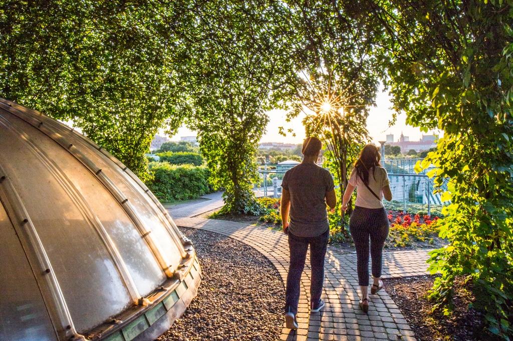 Ogród BUW, fot. Filip Kwiatkowski