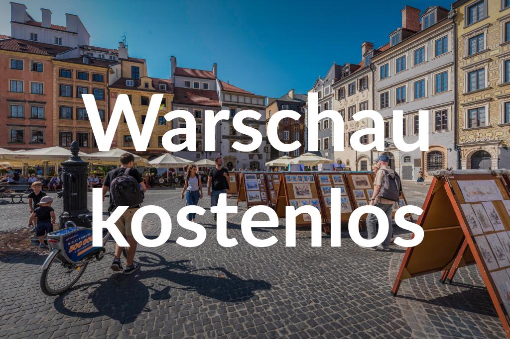 Rynek Starego Miasta, fot. m.st. Warszawa