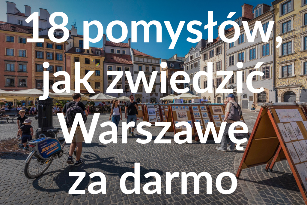 Rynek Starego Miasta, fot.m.st. Warszawa