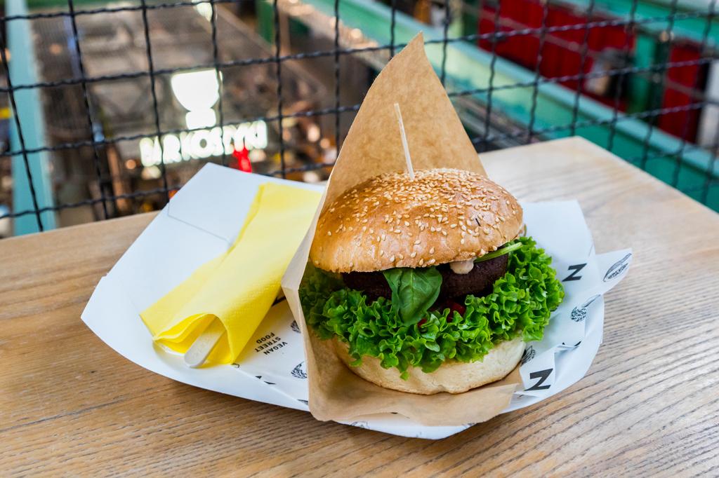 Hamburger, fot. Filip Kwiatkowski
