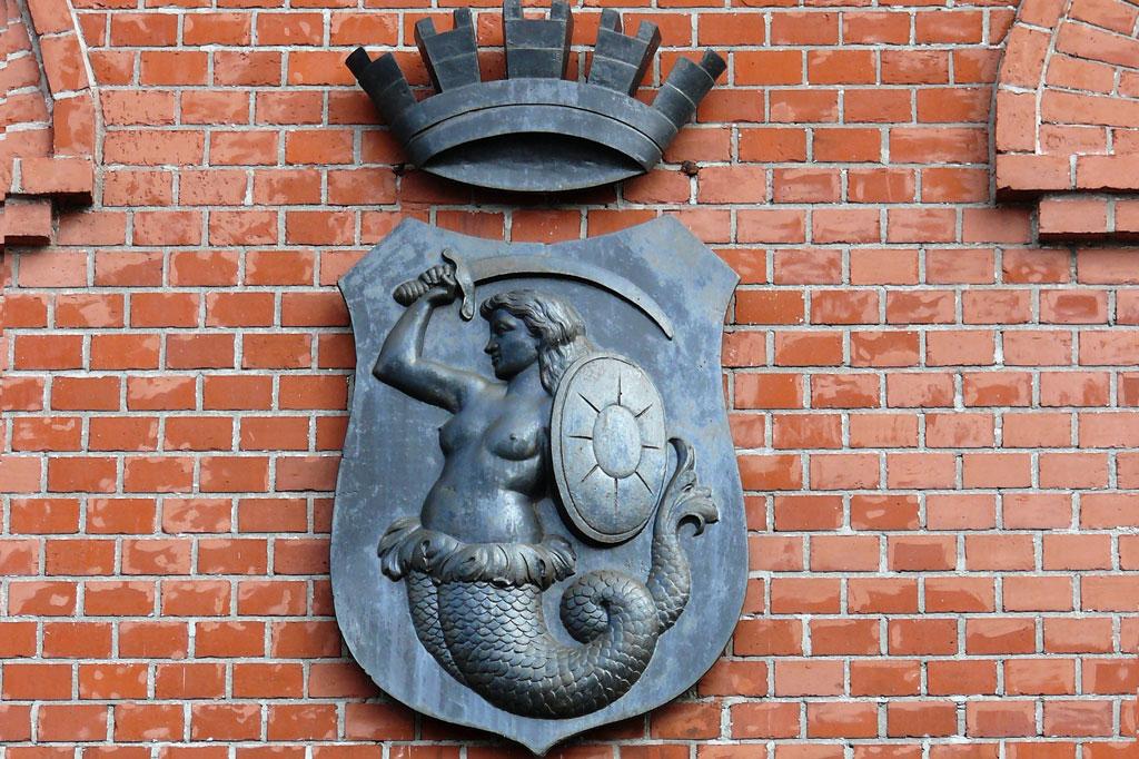 Syrenka na budynku Muzeum Powstania Warszawskiego, fot. Tomasz Nowak