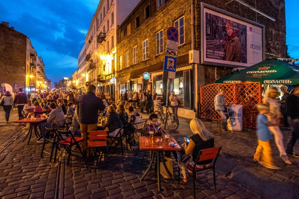 Ulica Ząbkowska, fot. Warszawska Organizacja Turystyczna