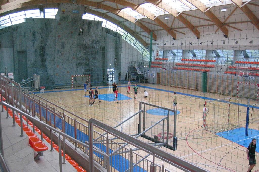 Ośrodek Sportu i Rekreacji Wola, Hala Koło, fot. OSiR Wola
