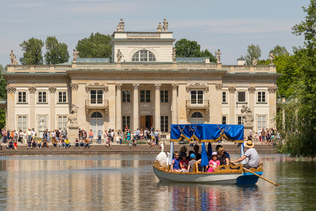 Łazienki Królewskie, Pałac na Wyspie, fot. Filip Kwiatkowski