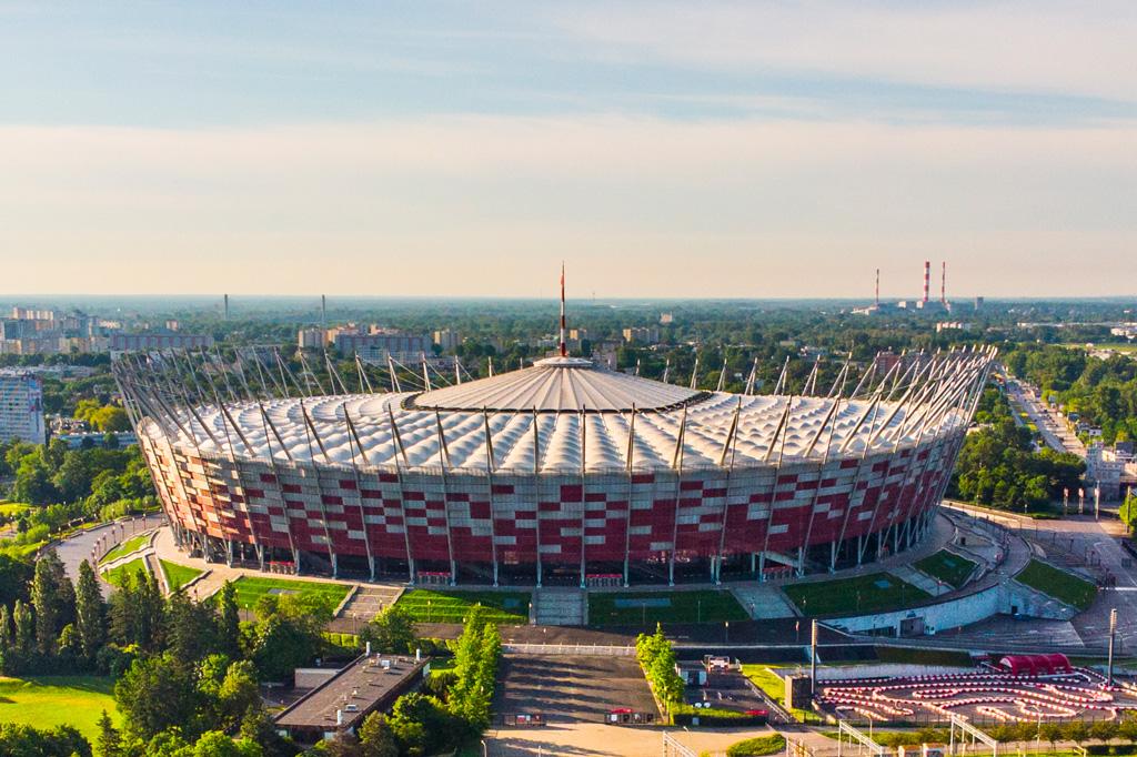 Stadion PGE Narodowy, fot. Filip Kwiatkowski