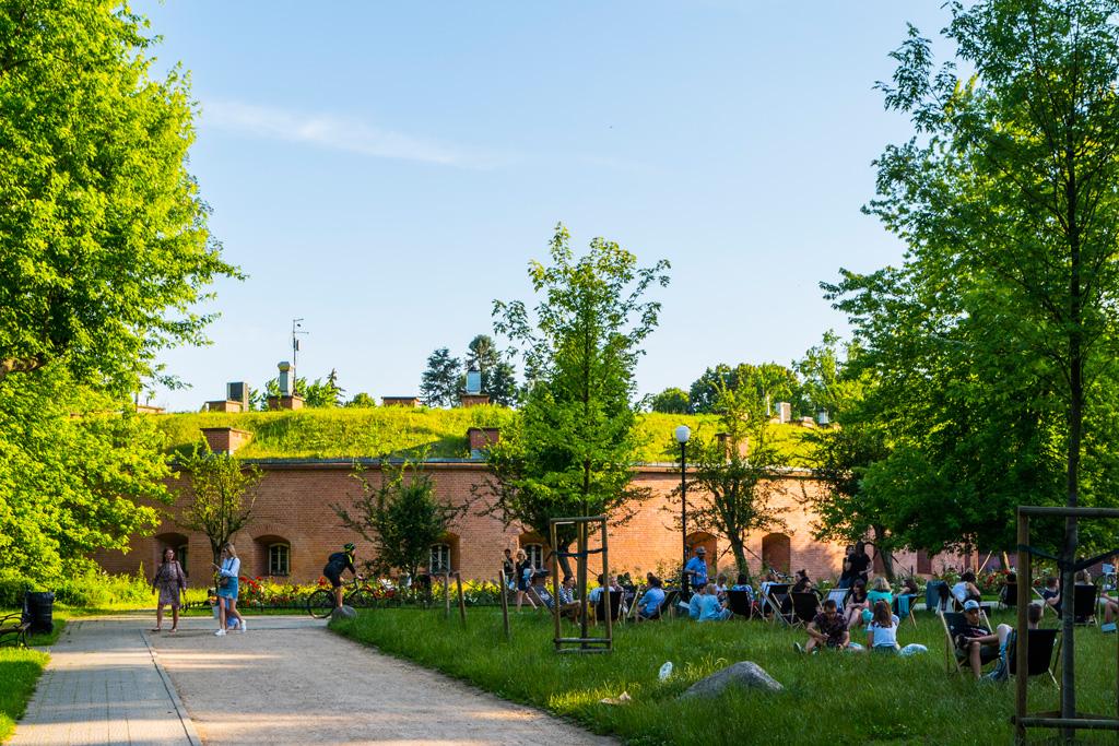 Park im.Stefana Żeromskiego, fot.Filip Kwiatkowski