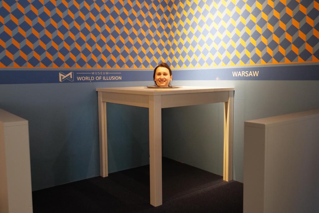 Muzeum Świat Iluzji, fot.Łukasz Kopeć