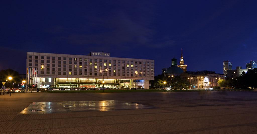 Budynek Hotelu Sofitel Victoria Warsaw