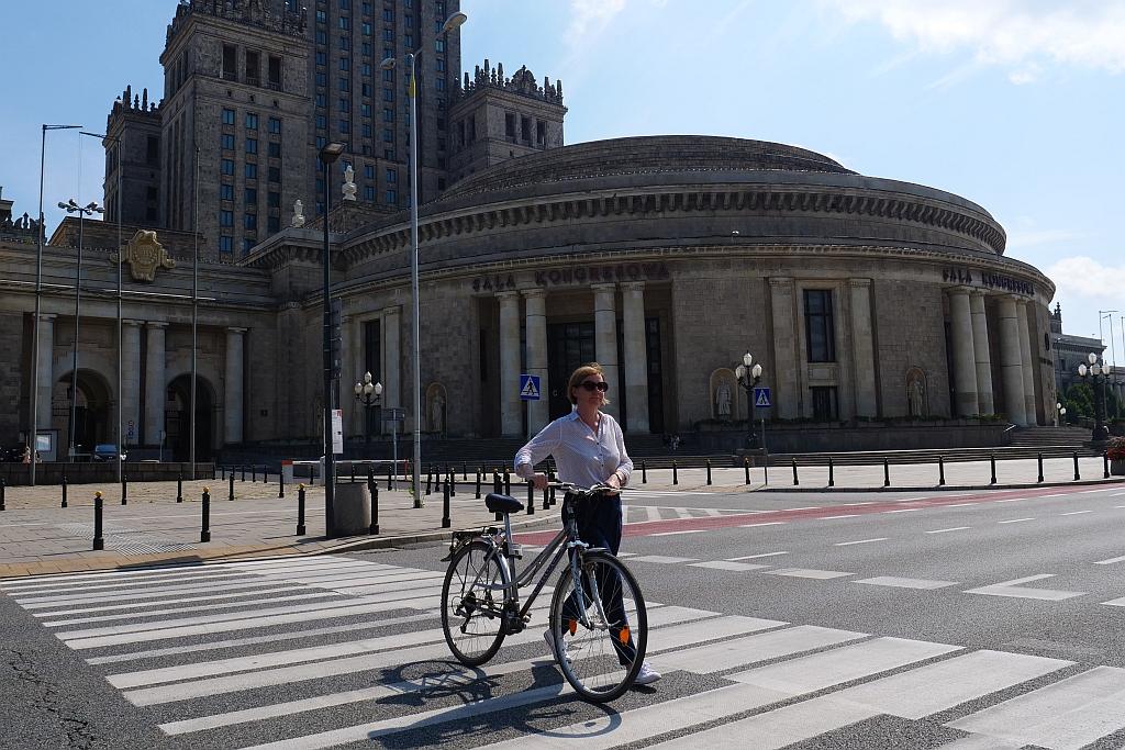 Rower na pasach, fot. Łukasz Kopeć