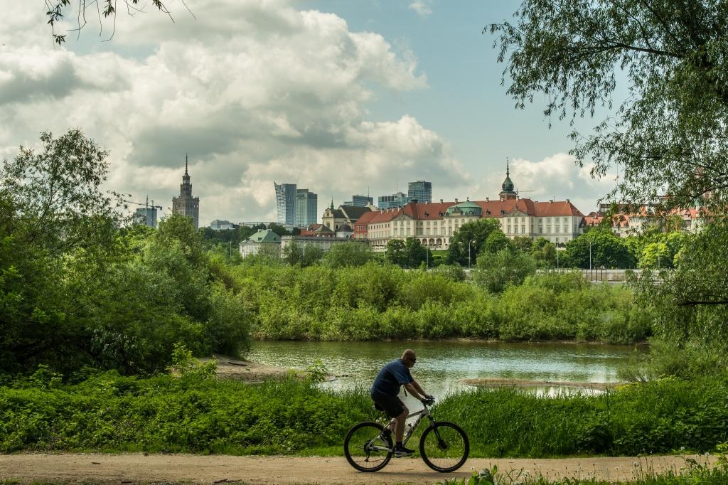 Ścieżka Rowerowa Po Prawej Stronie Wisły Fot. Filip Kwiatkowski